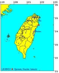 대만 북동부 해안서 규모 5.2 지진…피해 확인 중
