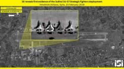 [<!HS>이철재의<!HE> <!HS>밀담<!HE>]러 스텔스 Su-57, 시리아 상공서 美 F-22 맞닥뜨리면?