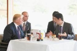 북·미 정상회담은 물론 남북회담 전에 한사코 트럼프 만나겠다는 아베