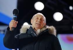 역대 최고 득표율로 압승한 <!HS>푸틴<!HE>, 4기 과제는 '경제·후계자'