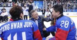 패럴림픽 아이스하키 선수 한명 한명에 <!HS>문재인<!HE> 대통령이 보낸 축전
