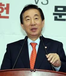"""김성태 """"<!HS>문재인<!HE> 정권의 개헌 불장난…오래 하면 밤에 오줌싼다"""""""