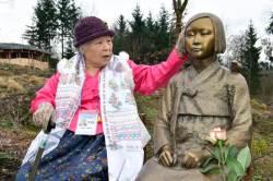 위안부 피해자 안점순 할머니의 가는 길은 외롭지 않았다