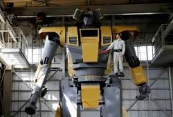 [서소문사진관] 퍼시픽림 실사판? 8.5m 키에 로켓포 장착 거대 로봇 등장