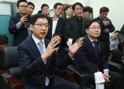 """[전문] """"'드루킹' 인사요청 <!HS>청와대<!HE>에 전달했다"""" 김경수 의원 2차 기자회견"""