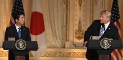 <!HS>트럼프<!HE> 'TPP·관세배제' 다 거부···아베, 잔인한 귀국길