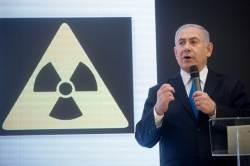 """""""이란 비밀 <!HS>핵무기<!HE> 증거 있다"""" 이스라엘 총리 폭탄 주장"""