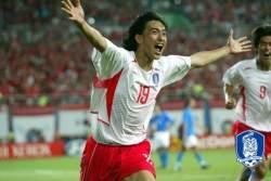 월드컵 최다골은 안정환-<!HS>박지성<!HE>, 최단 시간골은 이정수