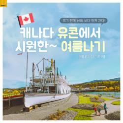 [<!HS>카드뉴스<!HE>] 캐나다 유콘에서 시원한 여름나기