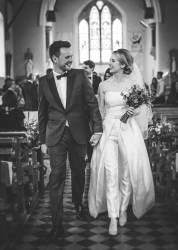 [style_this week] 신부가 웨딩 드레스 대신 '웨딩 팬츠'를 입는 이유