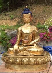네팔정부 '황금불상' 만들어 용인 와우정사에 기증 왜?