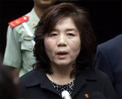 미국 비난하되 트럼프는 노 터치…북한 최선희, 펜스만 때렸다