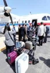 '풍계리 취재' 기자단, 중국 베이징 무사 귀환