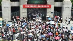 [<!HS>서소문사진관<!HE>] 975만명 한꺼번에 보는 중국 대입시험 '가오카오(高考)' 시작...
