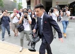[<!HS>서소문사진관<!HE>]북·미 정상회담 앞두고 스타 된 북한 기자