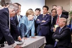 [<!HS>서소문사진관<!HE>]G7 정상회의 '이 사진'에 대한 트럼프의 해명