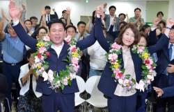 광주 유일 '<!HS>민주당<!HE> 국회의원'의 탄생…송갑석 광주 서구갑 국회의원