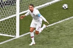 역시 호날두, 모로코전 골로 A매치 유럽 최다득점 신기록