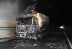 울산포항고속도로 터널서 화재…23명 연기흡입