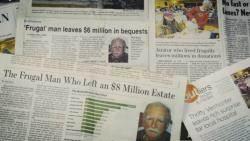 세상 떠나면서 90억원 기부한 미국 주유소 종업원