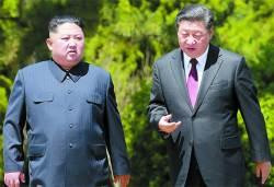 """日언론 """"시진핑, <!HS>김정은<!HE>에 북·미 회담서 종전선언 보류 요청"""""""