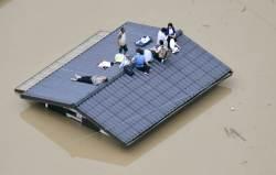 [서소문사진관]1013mm 기록적 폭우가 할퀴고 간 일본 재난 <!HS>현장<!HE>