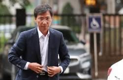 안희정 3차 공판 출석…오늘 김지은 지인·동료 증인신문
