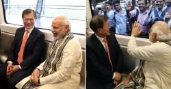 文대통령이 인도 지하철타고 삼성전자 공장 방문한 까닭