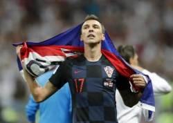 '만주키치 결승골' 크로아티아, 잉글랜드에 역전승…프랑스와 우승 다툼