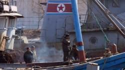 중국행 북한 <!HS>선박<!HE> 크게 줄어…반면 러시아 운항 증가