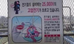 """""""기념사진 찍을래"""" 노량진역 열차 위 올랐다가 '펑'"""