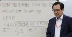 """靑 """"최저임금 8350원 결정 존중""""…구체적 입장표명은 신중"""