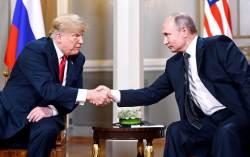 """트럼프 """"푸틴과 두 번째 회담 고대"""""""