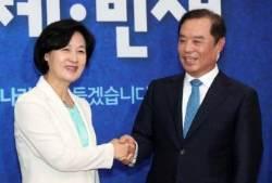 첫 만남서 '노무현 대연정' 얘기 나눈 추미애와 김병준