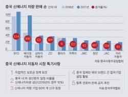 전기차 '글로벌 전쟁터'된 중국 … 이제 시동 건 한국