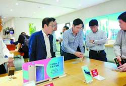 중국 간 <!HS>이재용<!HE>, 샤오미·화웨이·BYD 회장 만나 협력 논의