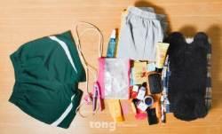 [TONG] [청춘리포트] 남녀공학 남학생 파우치 열어보니…