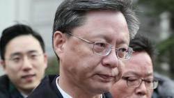 """우병우, 3번째 영장 끝 결국 구속…""""불법 사찰 혐의 소명"""""""
