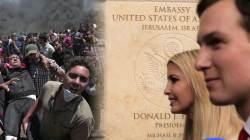 미 대사관, 예루살렘으로 이전한 날…최악의 유혈 사태