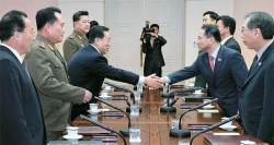 [사진] <!HS>남북<!HE> 14시간 <!HS>고위급<!HE> <!HS>회담<!HE> 성과 없이 끝나