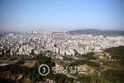 서울 아파트 전셋값 '북고남저'