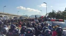 화물연대 운송거부 8일째…부산항 신항서 또 집회