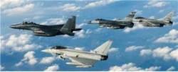 영국 전투기 유로퍼이터 여기까지 날아온 이유