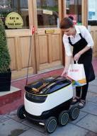 지상로봇이 음식 배달 시작…영국 런던
