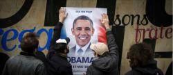 '프랑스 대선 후보' 버락 오바마 포스터가 파리 담벼락에 붙은 까닭은