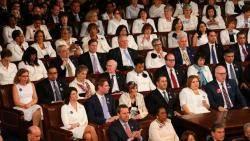 민주당 의원들이 트럼프 연설에 흰옷을 입은 이유는?