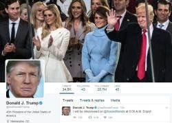 """트럼프...""""언론이 정직해지면 트위터 그만둘 것"""""""