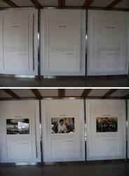 [포토사오정]<!HS>청와대<!HE> 춘추관 박근혜 전 대통령 사진 철거