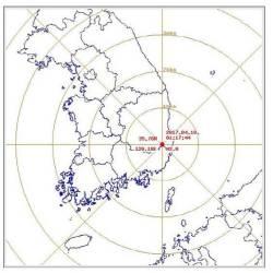 경북 경주에서 규모 2.0 <!HS>지진<!HE> 발생