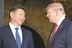 """美 백악관, """"<!HS>트럼프<!HE>-시진핑 전화통화…北 호전적 발언 비난"""""""